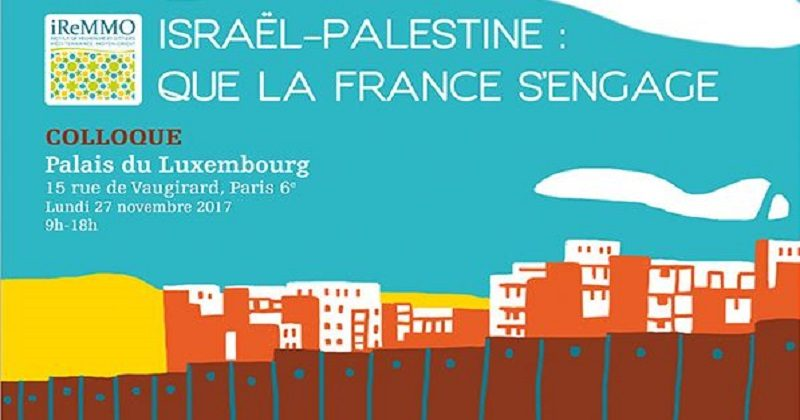 Colloque propalestinien à Paris