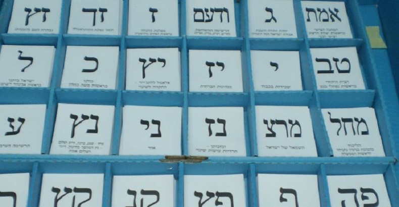 Elections anticipées en Israël